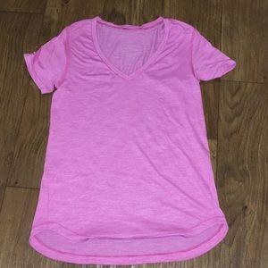 Lululemon - pink workout shirt